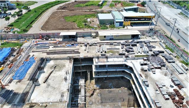 Cận cảnh dự án khủng trong khu đất vàng Quận 2, TPHCM vừa bị dừng thi công - 11