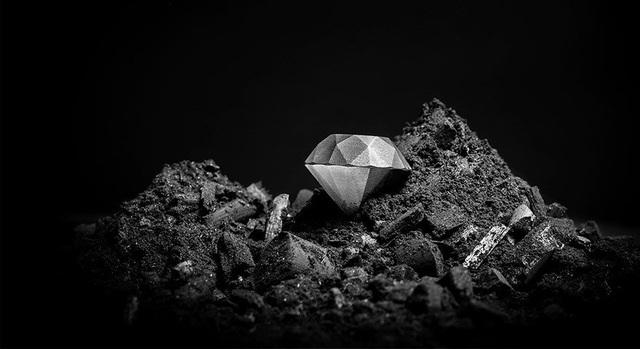 Cận cảnh viên kim cương đầu tiên trên thế giới được… in 3D - 2