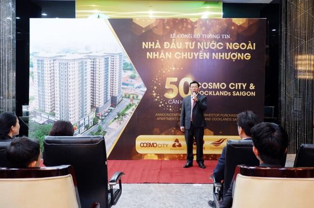 Nhà đầu tư Quốc tế rót gần 250 tỷ đồng mua căn hộ Cosmo City và Docklands Saigon - 2