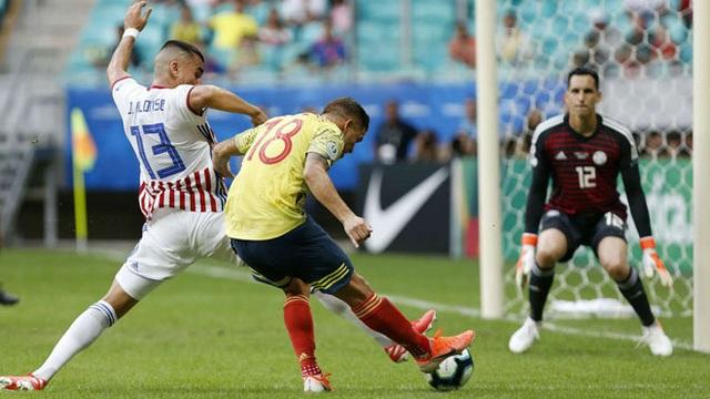 Colombia toàn thắng, Paraguay mong manh cơ hội đi tiếp - 2