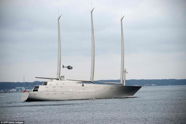 Chiêm ngưỡng siêu du thuyền khổng lồ trị giá hơn 10 nghìn tỷ đồng của tỷ phú Nga - 1
