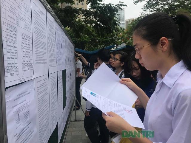 99,17% thí sinh đã đăng kí làm thủ tục dự thi THPT quốc gia 2019 - 1