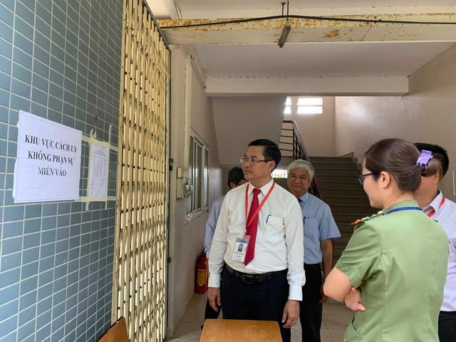 Lãnh đạo Bộ GD-ĐT kiểm tra công tác coi thi tại Bà Rịa - Vũng Tàu - 1