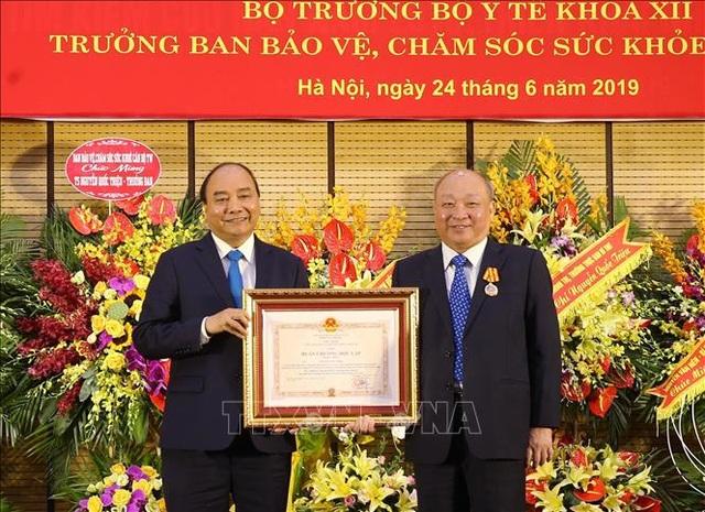 Thủ tướng dự lễ trao Huân chương Độc lập hạng Nhất cho Tiến sỹ, bác sỹ Nguyễn Quốc Triệu - 1