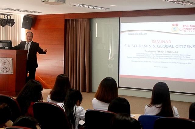 Đại học Quốc tế Sài Gòn tuyển sinh chuyên ngành Luật kinh tế quốc tế - 2