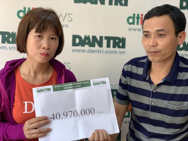 Nữ sinh lớp 12 may mắn thoát chết được bạn đọc Dân trí giúp đỡ hơn 40 triệu đồng - 2
