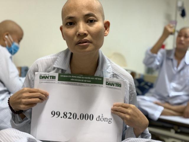 Bạn đọc Dân trí giúp đỡ người đàn bà ung thư máu gần 100 triệu đồng - 5