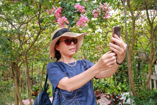 Phát sốt với con đường hoa tường vi đẹp như mơ ở Hà Nội - 8