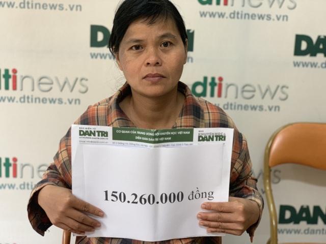 Người phụ nữ bất hạnh xúc động khi được bạn đọc Dân trí giúp đỡ hơn 150 triệu đồng - 4
