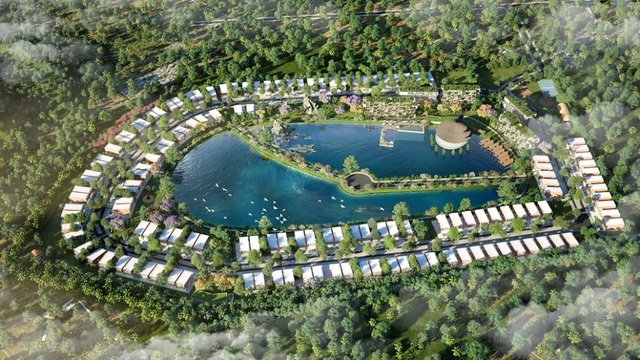 """Dự án """"đánh thức"""" bất động sản nghỉ dưỡng Ninh Bình - 1"""