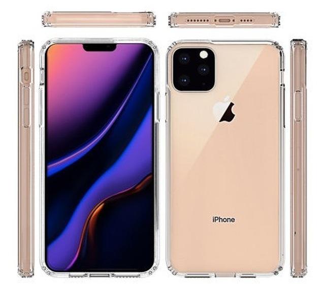 Thiết kế mới của iPhone XI lộ diện hoàn toàn qua ảnh phụ kiện vỏ bảo vệ - 2
