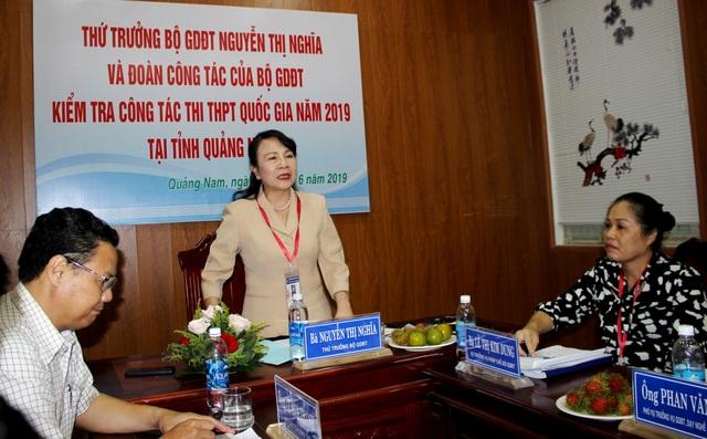 Thứ trưởng Bộ GD-ĐT làm việc tại Quảng Nam