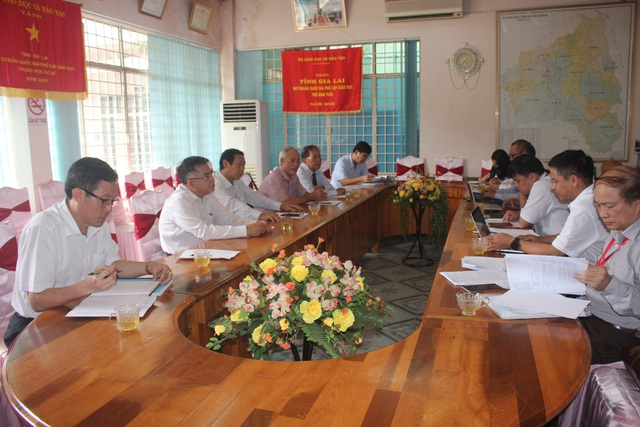 Đoàn công tác Bộ GD-ĐT đánh giá cao công tác thi tại tỉnh Gia Lai - 1