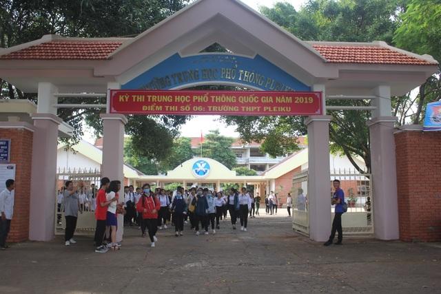 Đoàn công tác Bộ GD-ĐT đánh giá cao công tác thi tại tỉnh Gia Lai - 2