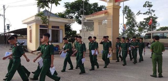 Điểm thi có 45 thí sinh của trường thiếu sinh quân - 3