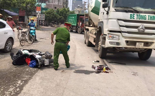Sĩ tử Hà Nội bị xe bồn tông gãy chân sau buổi thi môn Ngữ Văn - 1
