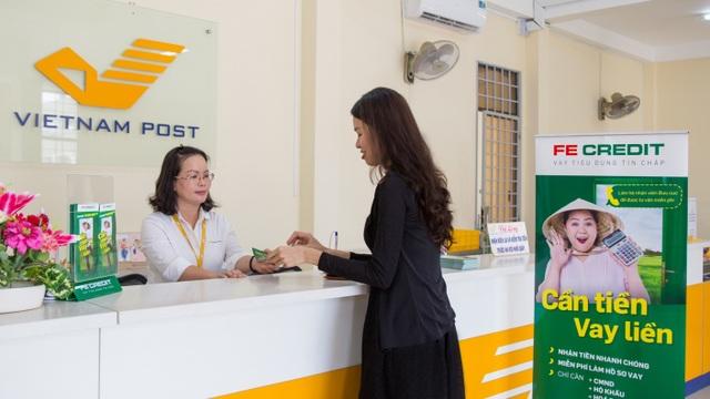 FE CREDIT hợp tác với Bưu Điện Việt Nam giới thiệu dịch vụ cho vay tiêu dùng tới khu vực nông thôn - 1