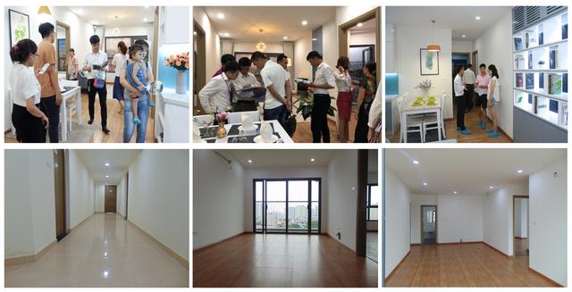 Khách hàng chen chân trải nghiệm căn hộ thực tế Samsora Premier 105 - 2