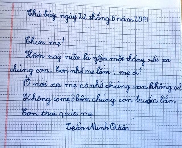 Đẫm nước mắt bức thư của cậu bé lớp một viết gửi người mẹ đã khuất - 7