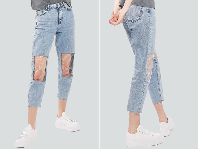 23 mẫu thời trang jeans lạ lùng phải thấy mới dám... tin là có thật - 1