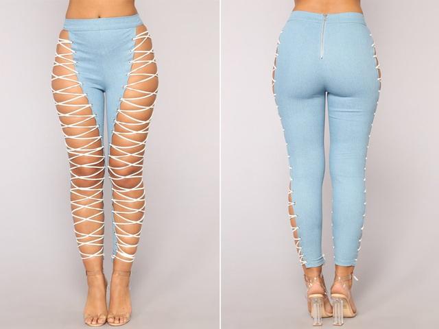 23 mẫu thời trang jeans lạ lùng phải thấy mới dám... tin là có thật - 12