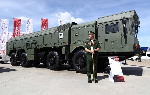 """Nga """"khoe"""" dàn khí tài uy lực, độc đáo tại triển lãm quân sự - 15"""