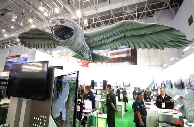 """Nga """"khoe"""" dàn khí tài uy lực, độc đáo tại triển lãm quân sự - 3"""
