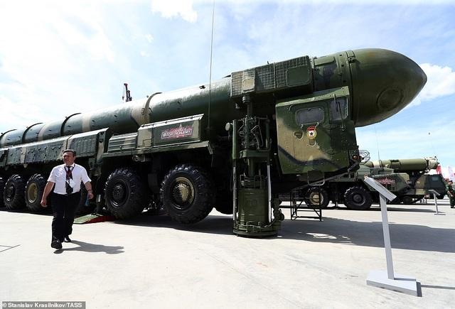 """Nga """"khoe"""" dàn khí tài uy lực, độc đáo tại triển lãm quân sự - 7"""