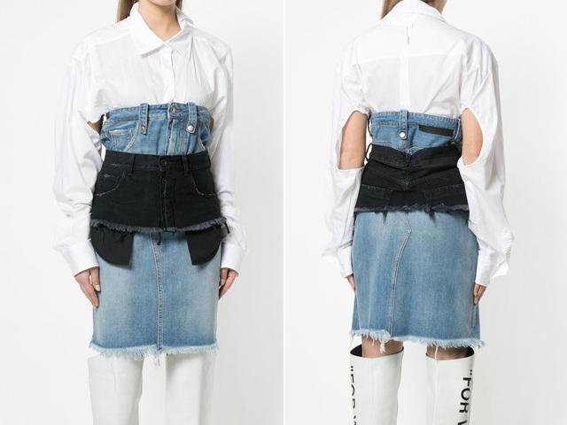 23 mẫu thời trang jeans lạ lùng phải thấy mới dám... tin là có thật - 16