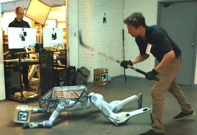 Thực hư video robot bị hành hạ và phản kháng lại con người - 2