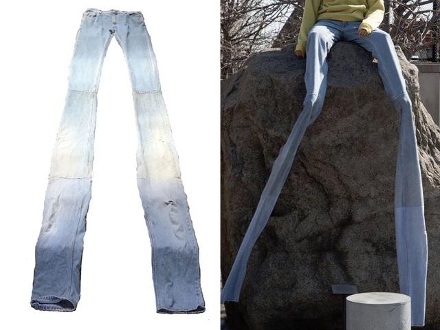 23 mẫu thời trang jeans lạ lùng phải thấy mới dám... tin là có thật - 20