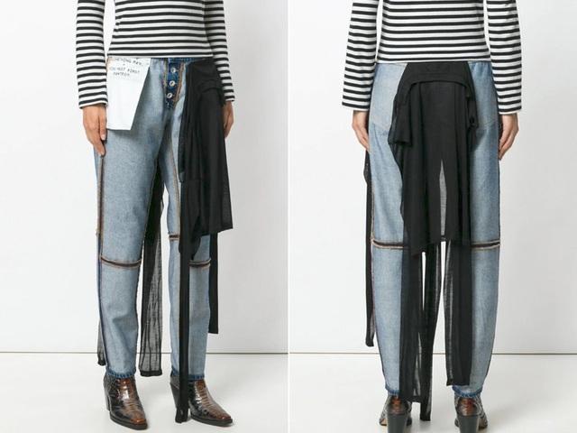 23 mẫu thời trang jeans lạ lùng phải thấy mới dám... tin là có thật - 21