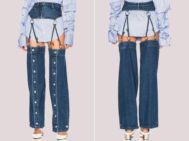 23 mẫu thời trang jeans lạ lùng phải thấy mới dám... tin là có thật - 3