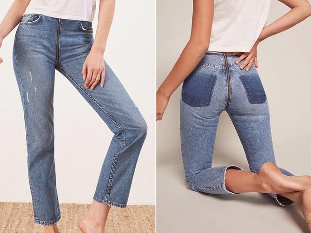 23 mẫu thời trang jeans lạ lùng phải thấy mới dám... tin là có thật - 4