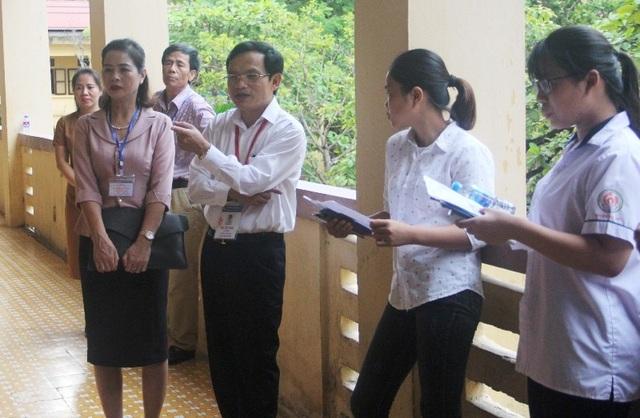 Cục trưởng Mai Văn Trinh kiểm tra phòng bảo quản, bảo mật đề thi tại Thanh Hóa - 2