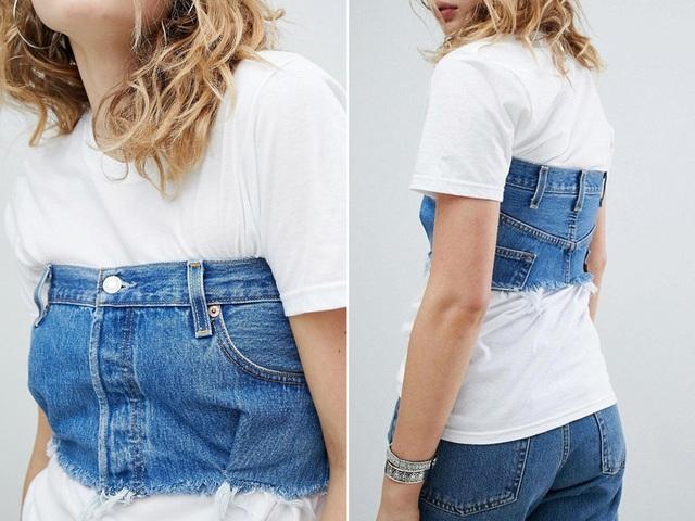 23 mẫu thời trang jeans lạ lùng phải thấy mới dám... tin là có thật - 9