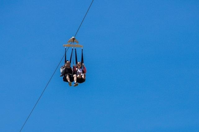 Đường trượt Zipline sở hữu 3 kỷ lục Việt Nam tại Vinpearl Nha Trang - 2