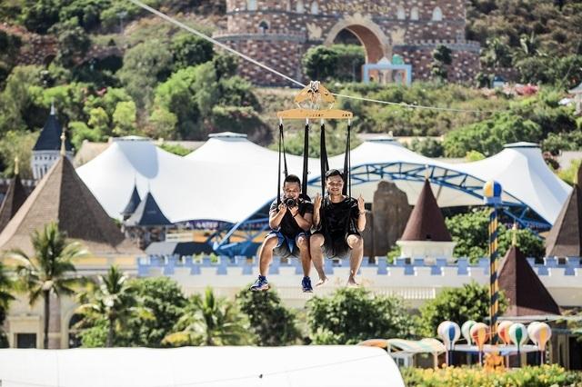Đường trượt Zipline sở hữu 3 kỷ lục Việt Nam tại Vinpearl Nha Trang - 3