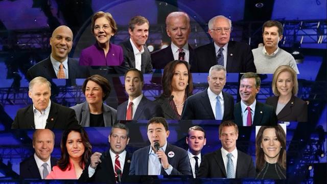 Nước Mỹ chờ đón màn đấu khẩu giữa 20 ứng viên tổng thống đảng Dân chủ - 1