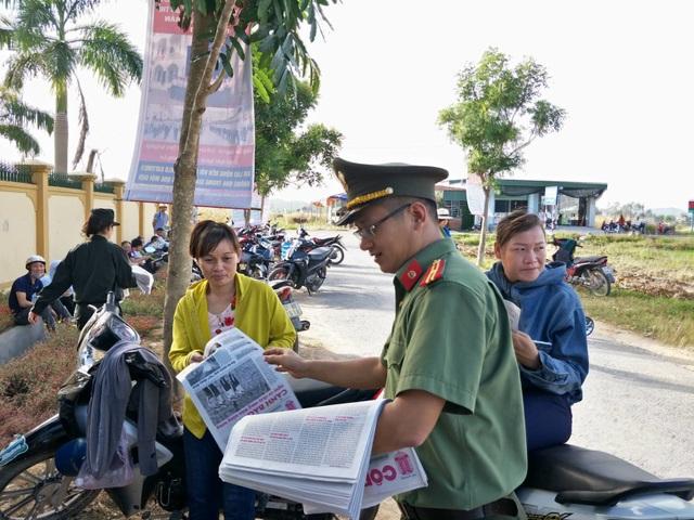Hơn 1.000 tình nguyện viên tiếp sức mùa thi 2019 khắp nẻo xứ Nghệ - 10