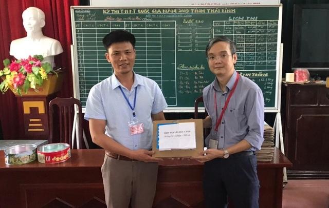 Trường ĐH Ngoại thương tặng 4.500 bút chì cho thí sinh - 2