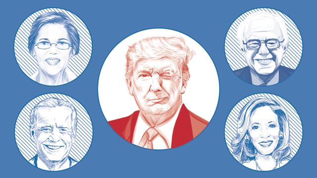 Nước Mỹ chờ đón màn đấu khẩu giữa 20 ứng viên tổng thống đảng Dân chủ - 2
