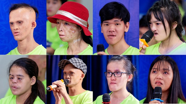 Diễn viên Tú Vi bật khóc khi nghe câu chuyện của các thí sinh khiếm khuyết - 6