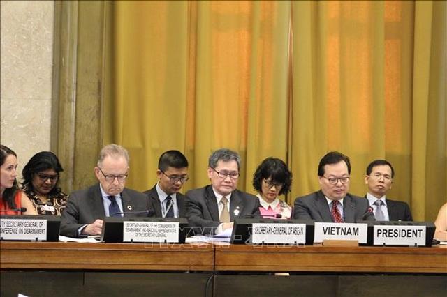 Việt Nam đảm nhiệm vai trò Chủ tịch Hội nghị Giải trừ quân bị - 1