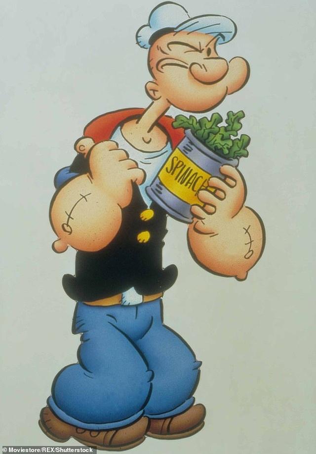 Thủy thủ Popeye cường tráng bất ngờ nhờ rau chân vịt là... có thật - 1