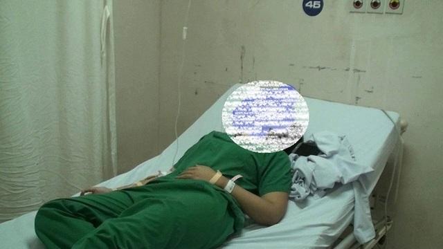 Đề nghị công an xử lý người nhà bệnh nhân say xỉn, đấm vào mặt nữ bác sĩ - 1