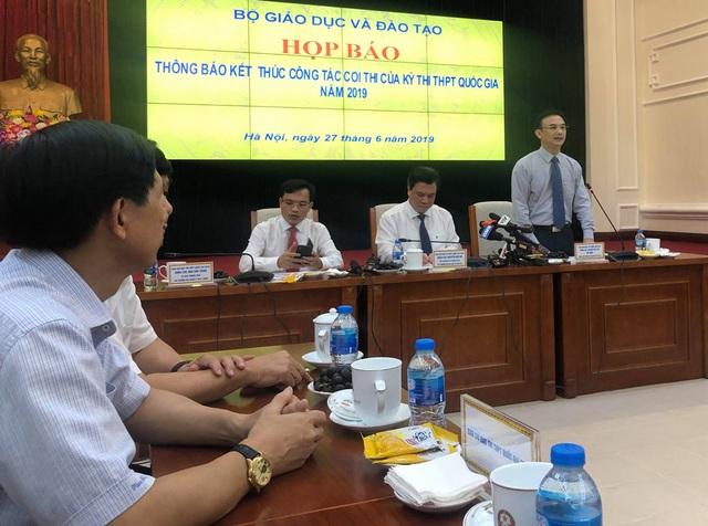 Nóng: Bộ GDĐT công bố đáp án các bài thi trắc nghiệm THPT quốc gia 2019 - 2