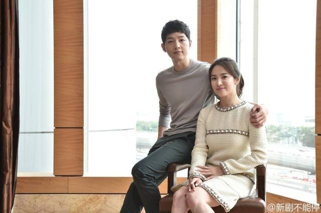 Hình ảnh ngọt ngào của Song Hye Kyo - Song Joong Ki trước khi chia tay - 4
