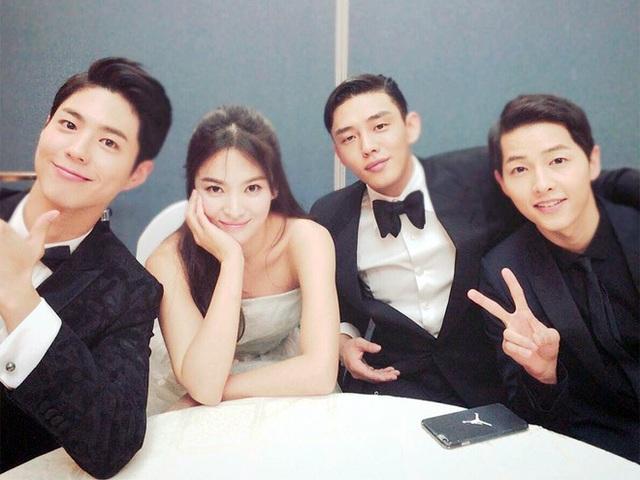 Hình ảnh ngọt ngào của Song Hye Kyo - Song Joong Ki trước khi chia tay - 7