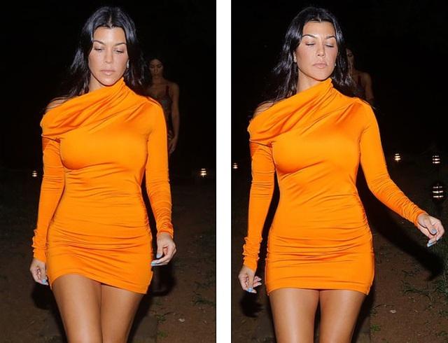 Kim Kardashian diện đồ sắc màu khoe đường cong - 7